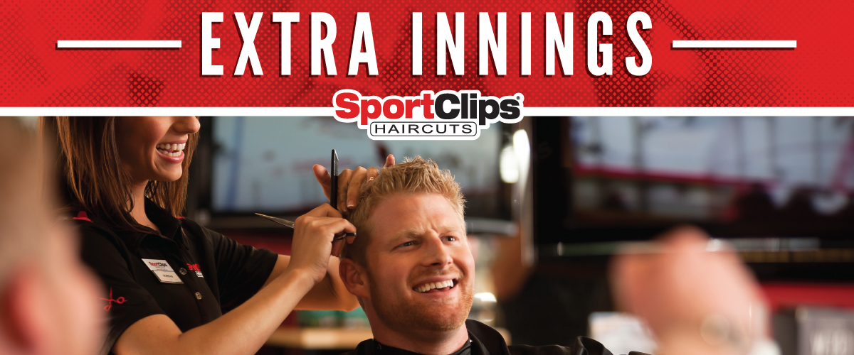 The Sport Clips Haircuts of The Market @ Oakland Extra Innings Offerings